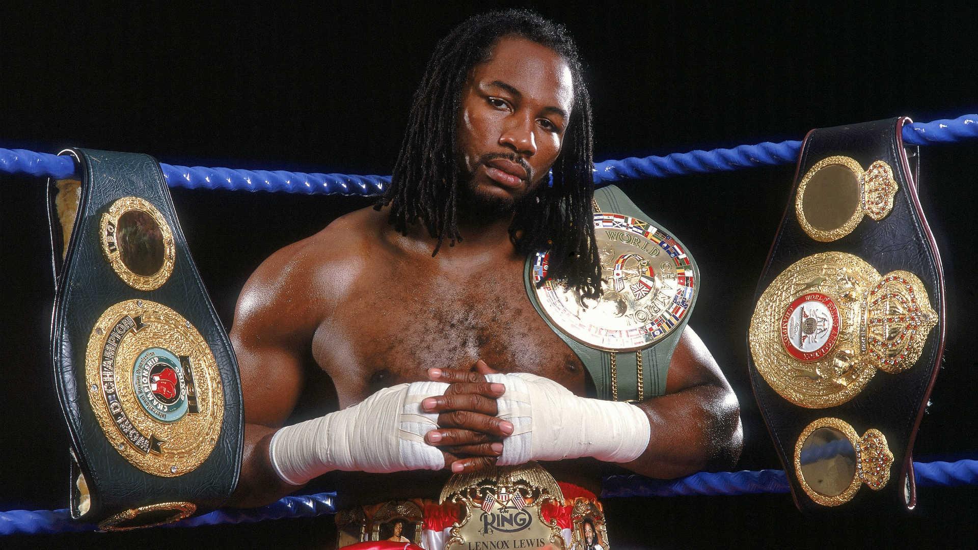 World Heavyweight Champion Lennox Lewis
