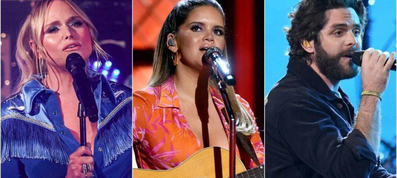 Miranda Lambert, Maren Morris and Thomas Rhett to Perform at 2020 CMA Awards