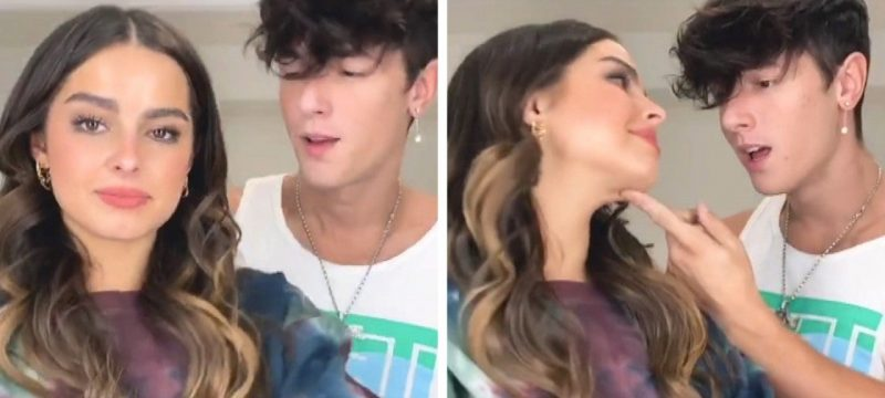 Addison Rae Reunites With Ex Bryce Hall in New TikTok Video — Watch