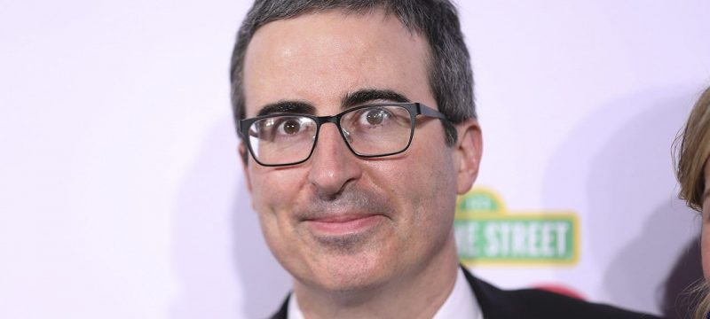 John Oliver Talks Emotional Experience Voting for the First Time as an American Citizen