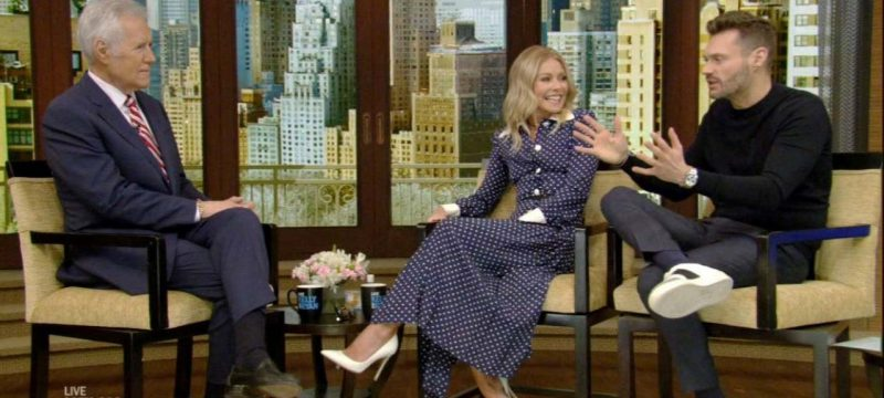 Kelly Ripa and Ryan Seacrest Reflect on Alex Trebek's Time on 'Jeopardy!' and His Influence (Exclusive)