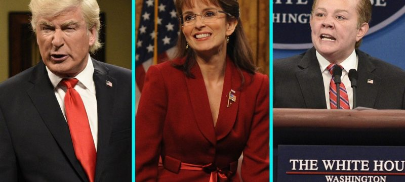 'Saturday Night Live's Best Celebrity Guest Political Impersonations — From Alec Baldwin to Brad Pitt & More!