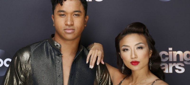 Read Brandon Armstrong's Sweet Message for Jeannie Mai After She's Forced to Leave 'DWTS' Over Health Concerns