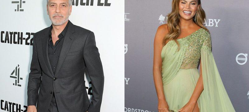 George Clooney Praises Chrissy Teigen for Taking On Her Trolls