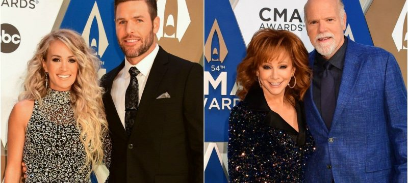 2020 CMA Awards: Carrie Underwood, Reba McEntire and More Cutest Couples of the Night