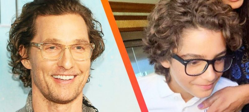 Matthew McConaughey on His Lookalike Son Levi Following in His Footsteps (Exclusive)