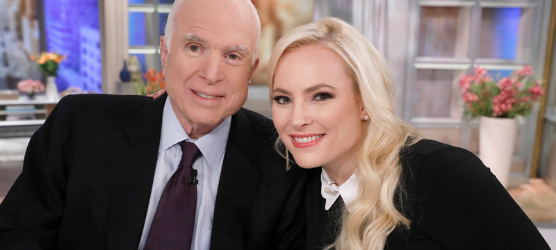 Meghan McCain Shares Moving Message About First Election Without Her Dad John McCain But First With Daughter