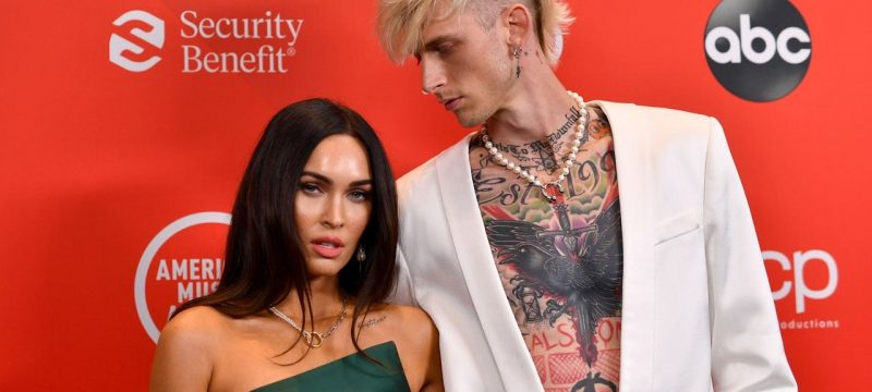 Megan Fox and Machine Gun Kelly Make Red Carpet Debut at 2020 American Music Awards