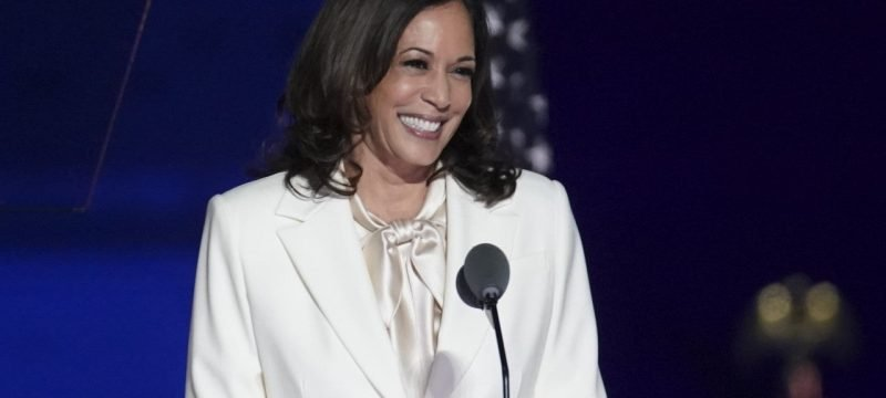 Why Kamala Harris' White Suit Is So Powerful — Get Her Look!