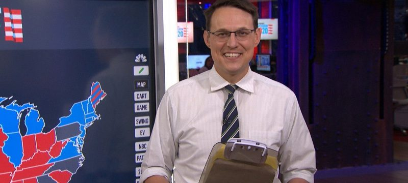 MSNBC's Steve Kornacki Reacts To Election Coverage Thirst Tweets