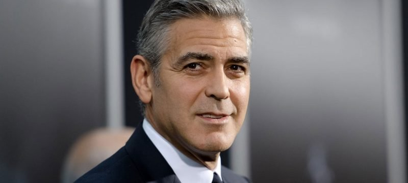 George Clooney's Chocolate-Covered 3-Year-Old Son Crashes His 'GQ' Interview