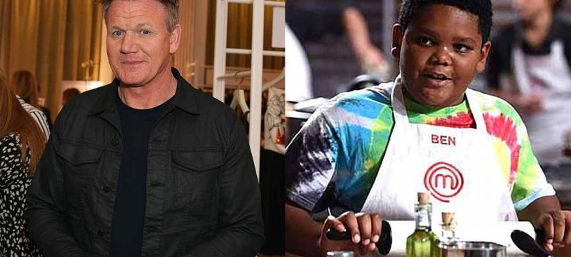 Gordon Ramsay Donated $50K to Late 'MasterChef Junior' Alum Ben Watkins for Cancer Treatment