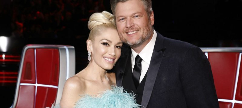 Gwen Stefani and Blake Shelton Have a Belated First Thanksgiving After Getting Engaged
