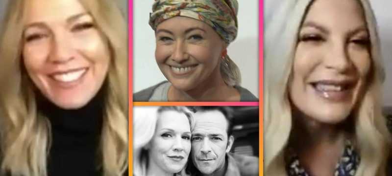 Tori Spelling & Jennie Garth on Shannen Doherty's Cancer Battle and Honoring Luke Perry (Exclusive)