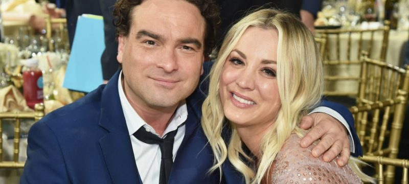 Kaley Cuoco and Johnny Galecki's 'Big Bang Theory' Characters Started Hooking Up Right After Their Split