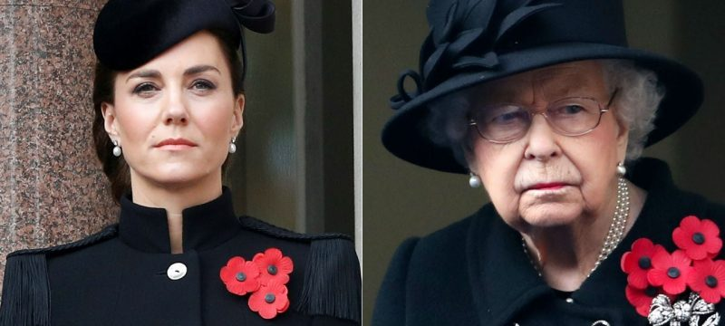 Kate Middleton, Queen Elizabeth and More Royals Attend Remembrance Sunday Service Amid London's Lockdown
