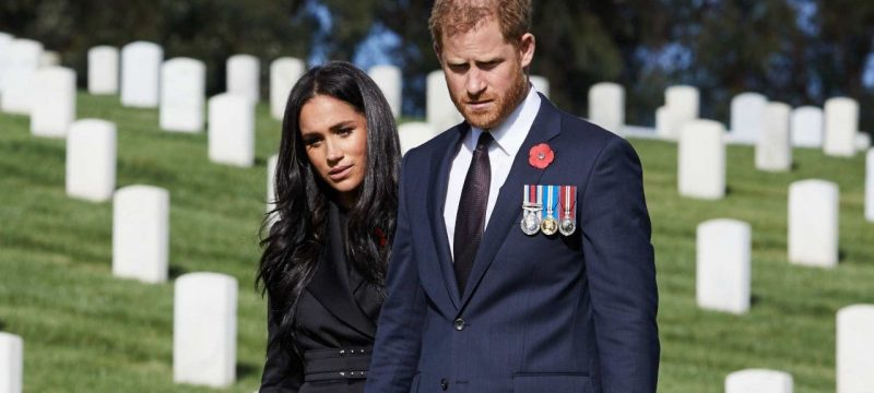 Prince Harry & Meghan Markle Celebrate Remembrance Day in the US as His Family Holds Ceremony in London