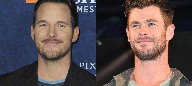 Chris Pratt Jokes Chris Hemsworth Should Stop Working Out After Signing Onto Next 'Thor'