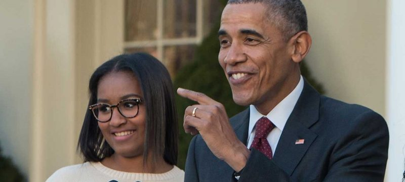 Barack Obama Shares the Funny Reason He's Scared of Daughter Sasha