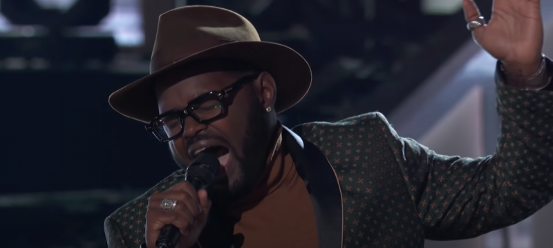 'The Voice': John Holiday's Incredible Celine Dion Cover Blows the Coaches Away
