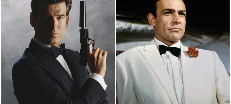 Pierce Brosnan Posts Tribute to 'Greatest James Bond' Sean Connery