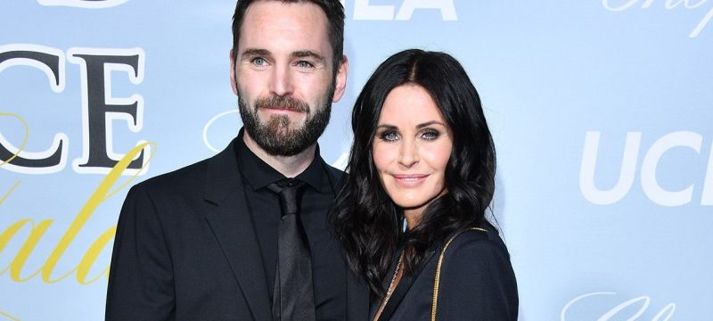 Courteney Cox and Johnny McDaid Reunite in Person After 9 Months Apart: Watch