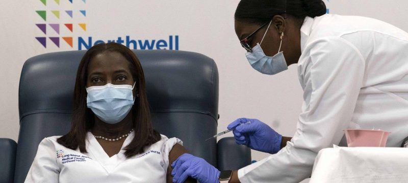 First COVID-19 Vaccine Is Given in New York