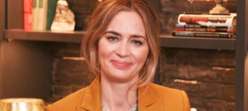 Emily Blunt Says Co-Star Jamie Dornan Was 'Relieved' She'd Never Seen 'Fifty Shades of Grey' (Exclusive)