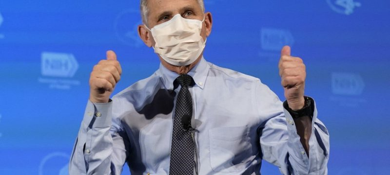 Dr. Anthony Fauci and Other Top Health Officials Get Coronavirus Vaccine
