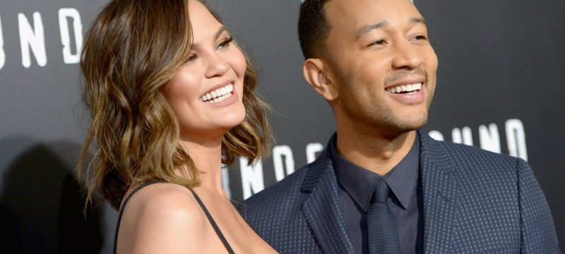 Chrissy Teigen Poses in Shapewear and Can't Handle Husband John Legend's Flirty Comment