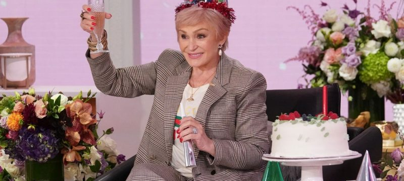 Sharon Osbourne Home for the Holidays After Two Negative COVID-19 Tests