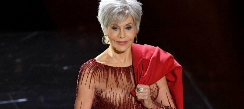 Jane Fonda Says She's Finally Embracing Her Gray Hair: 'Enough Already'