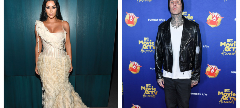 Kim Kardashian Denies Ever Hooking Up With Travis Barker: 'False Narrative'
