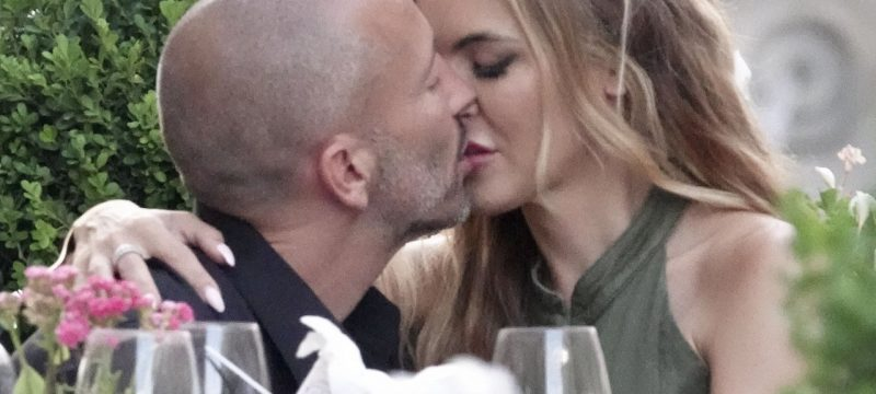Chrishell Stause and Jason Oppenheim Pack on the PDA During Vacation in Rome