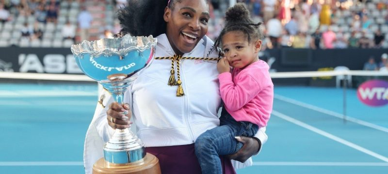 Serena Williams Says Daughter Olympia Is a 'Perfectionist' on the Tennis Court